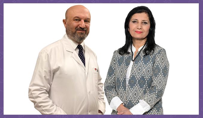 проф. д-р Селчук Пекер и проф. д-р Фериха Йозер
